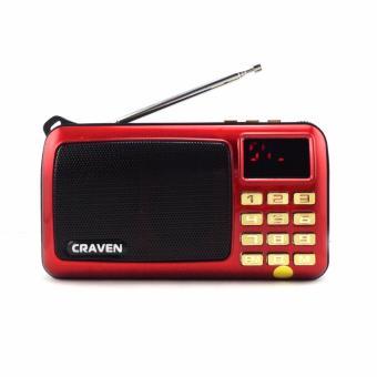 Máy nghe nhạc đa năng USB thẻ nhớ đài FM Craven CR-82A