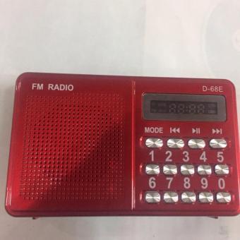 Máy nghe nhạc đa năng USB, thẻ nhớ, đài FM D-68E