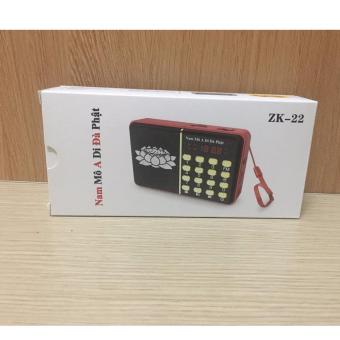 Máy nghe nhạc đa năng USB, thẻ nhớ, Đài FM ZK-23