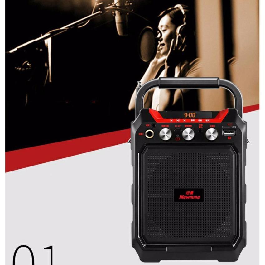 May Nghe Nhac Mini Loa Ngoai - Loa di động karaoke không dây HAK99 2658, mua loa nghe nhac mini...