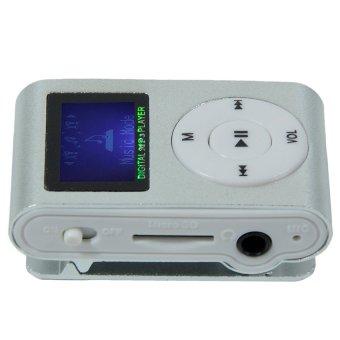Máy nghe nhạc MP3 có màn hình LCD kiểu kẹp (Bạc) - 8371790 , OE680ELAA1CSK5VNAMZ-2113896 , 224_OE680ELAA1CSK5VNAMZ-2113896 , 109000 , May-nghe-nhac-MP3-co-man-hinh-LCD-kieu-kep-Bac-224_OE680ELAA1CSK5VNAMZ-2113896 , lazada.vn , Máy nghe nhạc MP3 có màn hình LCD kiểu kẹp (Bạc)