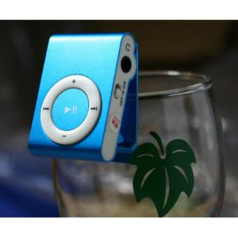 Máy nghe nhạc MP3 vỏ nhôm sành điệu ( xanh dương)