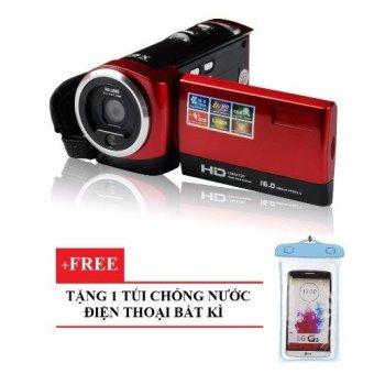 Máy quay phim cầm tay ELITEK HD Digital VIDEO 16X + Túi chống nướcbất kì