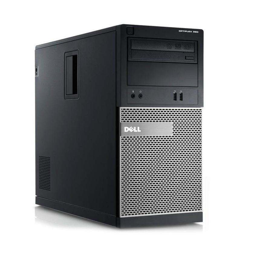 Hình ảnh Máy tính đồng bộ DELL OPTIPLEX 390 MT (Core i7 2600, Ram 8GB, SSD 120GB, HDD 2TB) + Quà Tặng - Hàng Nhập Khẩu