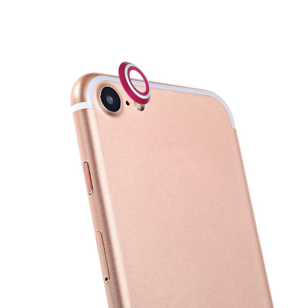 Nơi bán Metal Lens Protector Camera Protection for iPhone 7(Rose Madder) - intl giá hời - Giá chỉ 80.011đ