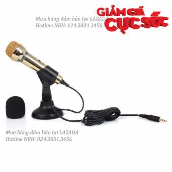 Mic hát karaoke trên Laptop, PC - Micro thu âm SM-098 (Vàng) - 8396073 , OE680ELAA4SKBBVNAMZ-8831637 , 224_OE680ELAA4SKBBVNAMZ-8831637 , 350000 , Mic-hat-karaoke-tren-Laptop-PC-Micro-thu-am-SM-098-Vang-224_OE680ELAA4SKBBVNAMZ-8831637 , lazada.vn , Mic hát karaoke trên Laptop, PC - Micro thu âm SM-098 (Vàng)