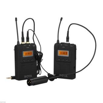 Mic thu âm cài áo không dây cho máy quay UHF Wireless Microphone Boya BY-WM6 (Đen) - 8063964 , BO368ELAA1T5LKVNAMZ-3045672 , 224_BO368ELAA1T5LKVNAMZ-3045672 , 3448000 , Mic-thu-am-cai-ao-khong-day-cho-may-quay-UHF-Wireless-Microphone-Boya-BY-WM6-Den-224_BO368ELAA1T5LKVNAMZ-3045672 , lazada.vn , Mic thu âm cài áo không dây cho máy qua