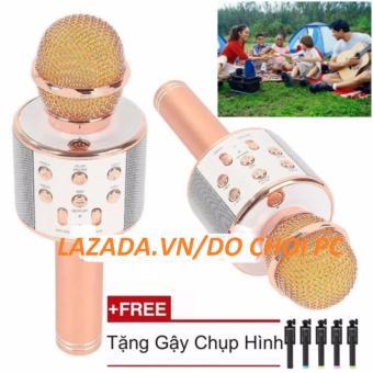 Micro hát karaoke Bluetooth 3in1 kèm loa WS-858 + Tặng gậy chụp hình - 8374440 , OE680ELAA21NCQVNAMZ-3485172 , 224_OE680ELAA21NCQVNAMZ-3485172 , 630000 , Micro-hat-karaoke-Bluetooth-3in1-kem-loa-WS-858-Tang-gay-chup-hinh-224_OE680ELAA21NCQVNAMZ-3485172 , lazada.vn , Micro hát karaoke Bluetooth 3in1 kèm loa WS-858 + Tặng