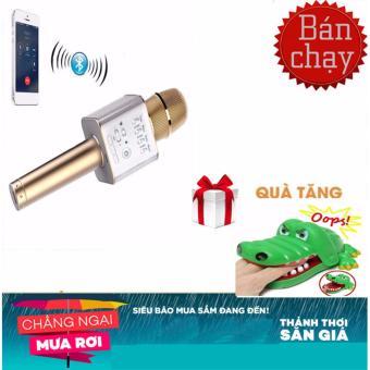 Micro hát Karaoke Q9 kèm Loa Bluetooth 3 trong 1 (Vàng) + khám răng cá sấu - 8413958 , OE680ELAA8YPU6VNAMZ-17614556 , 224_OE680ELAA8YPU6VNAMZ-17614556 , 298989 , Micro-hat-Karaoke-Q9-kem-Loa-Bluetooth-3-trong-1-Vang-kham-rang-ca-sau-224_OE680ELAA8YPU6VNAMZ-17614556 , lazada.vn , Micro hát Karaoke Q9 kèm Loa Bluetooth 3 trong