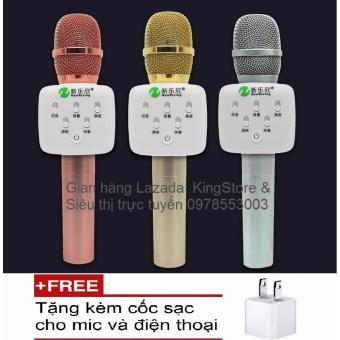 Micro kèm Loa Bluetooth cao cấp NR-K9 hát Karaoke trên điện thoại,Ipad, SmartTV + Tặng kèm cốc sạc cho mic và điện thoại - 8288258 , NO007ELAA28YSMVNAMZ-3847700 , 224_NO007ELAA28YSMVNAMZ-3847700 , 1150000 , Micro-kem-Loa-Bluetooth-cao-cap-NR-K9-hat-Karaoke-tren-dien-thoaiIpad-SmartTV-Tang-kem-coc-sac-cho-mic-va-dien-thoai-224_NO007ELAA28YSMVNAMZ-3847700 , lazada.vn , Mic