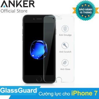 Miếng dán cường lực ANKER GlassGuard cho iPhone 7 (Trong suốt)