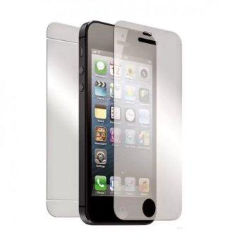 Miếng dán Kính cường lực 2 mặt dành cho Iphone 4 4S (trong suốt)