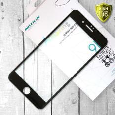 Miếng dán kính cường lực iPhone 7 Plus hiệu Nillkin Full màn hình viền màu (Đen)