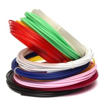 Mini 5M 3D Printer Filament 1.75mm 3mm ABS / PLA RepRap MarkerBot Doodle Sales Green - intl