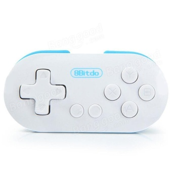 Mini 8Bitdo ZERO Bluetooth Gamepad Wireless Game Controller Shutter For Android iOS Windows Mac OS - intl