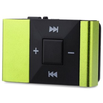 Mini Portable Clip MP3 Music Audio Player with TF Card Insert -intl
