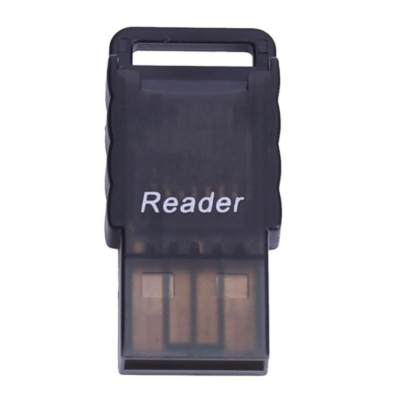 Bảng giá Mini Portable Micro SD to USB 2.0 TF Memory Card Adapter Reader(Black) - intl Phong Vũ