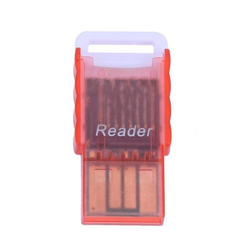 Bảng giá Mini Portable Micro SD to USB 2.0 TF Memory Card Adapter Reader(Red) - intl Phong Vũ