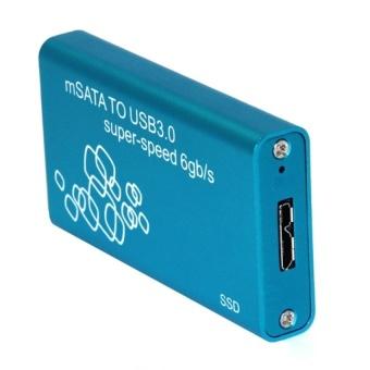 Mini USB 3.0 to mSATA Hard Disk Box SSD Case HDD Enclosure - Blue - intl - 8412565 , OE680ELAA8VVCMVNAMZ-17436516 , 224_OE680ELAA8VVCMVNAMZ-17436516 , 538020 , Mini-USB-3.0-to-mSATA-Hard-Disk-Box-SSD-Case-HDD-Enclosure-Blue-intl-224_OE680ELAA8VVCMVNAMZ-17436516 , lazada.vn , Mini USB 3.0 to mSATA Hard Disk Box SSD Case HDD