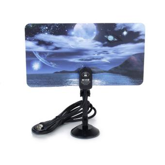 Moon Lake DVB-TW35B Flat Indoor Antenna - Intl