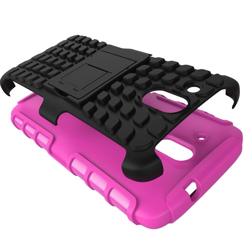 Mooncase Case For HTC Desire 526G+ Detachable 2 in 1 ShockproofTough Rugged Prevent Slipping Dual-