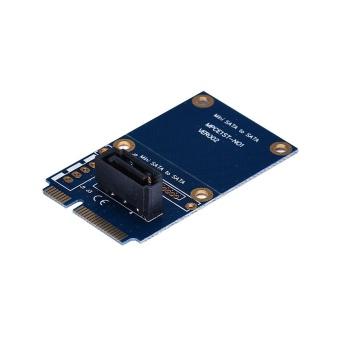 mSATA Mini PCI-e SATA SSD Slot To 7p SATA HDD Convert Card - intl