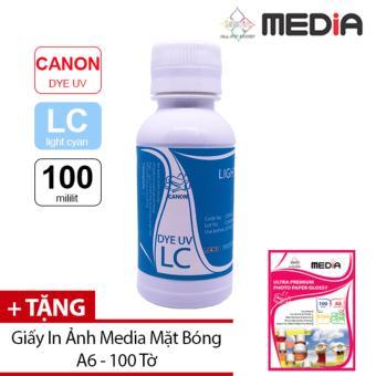 Mực In Phun Màu Media Cho Máy In Canon 100ml (LC) + Tặng Giấy In Ảnh A6 100 Tờ - 10226190 , CA185ELAA3RF3YVNAMZ-6709748 , 224_CA185ELAA3RF3YVNAMZ-6709748 , 126000 , Muc-In-Phun-Mau-Media-Cho-May-In-Canon-100ml-LC-Tang-Giay-In-Anh-A6-100-To-224_CA185ELAA3RF3YVNAMZ-6709748 , lazada.vn , Mực In Phun Màu Media Cho Máy In Canon 100ml