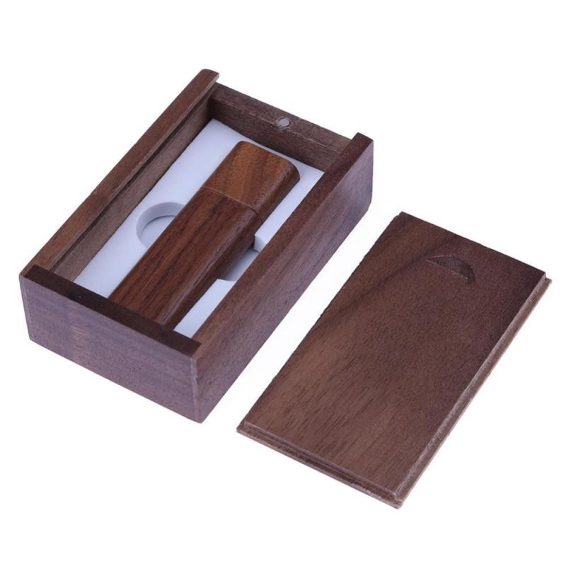 Bảng giá Natural Walnut Case USB 2.0 Port Flash Memory Disk(Coffee)-2GB With Box - intl Phong Vũ