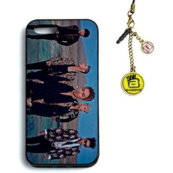 New Fanstown Bigbang Made iphone5/5s case + Dust plug charm - intl