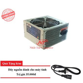Nguồn dành cho máy tính bàn Vision 650W - Fan 12cm (bạc) + tặng kèm dây nguồn
