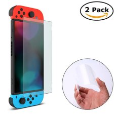 Muốn mua niceEshop Nintendo Switch Tempered Screen Protective Glass, Full Coverage Screen Protector For Nintendo Switch 2017, 2 Pack – intl  ở đâu