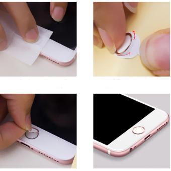 Nut Home cho iPhone 7 dùng được vân tay (Đỏ) - 2