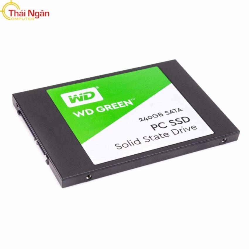 Hình ảnh Ổ cứng SSD WD GREEN 240GB SATA III - WDS240G1G0A