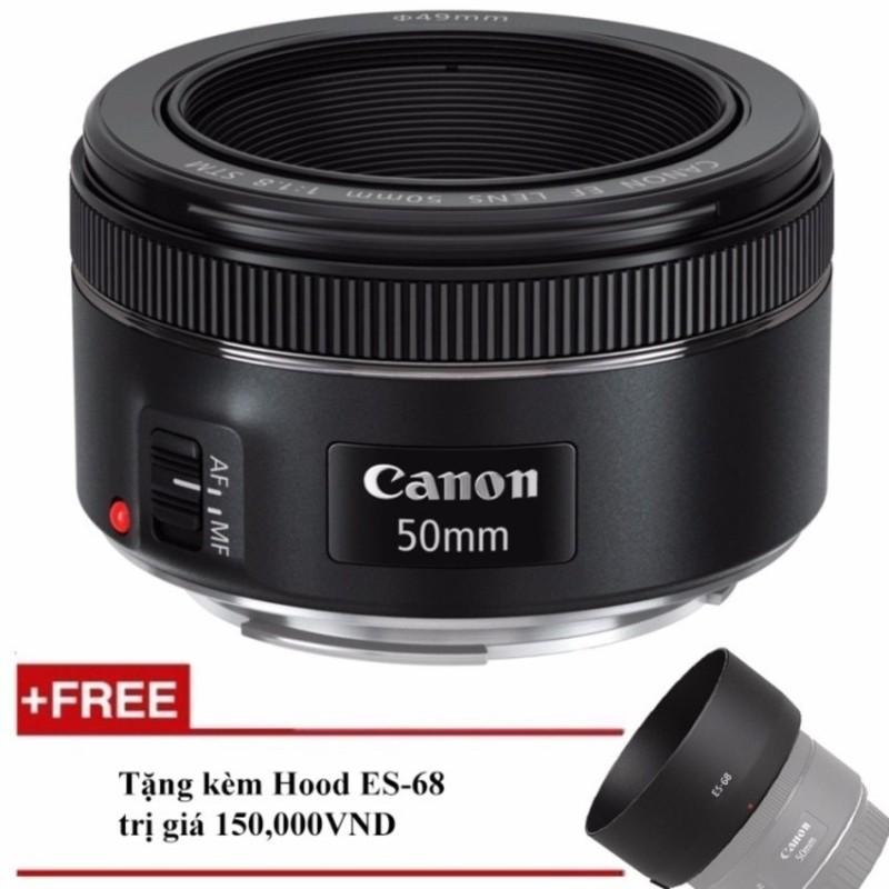 Ống kính Canon EF 50mm f/1.8 STM - Hàng Canon Lê Bảo Minh