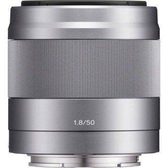 Ống kính Sony E 50mm f/1.8 Bạc SEL50F18S