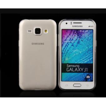 Ốp dẻo trong suốt cho Samsung Galaxy J100 (Đen trong suốt)