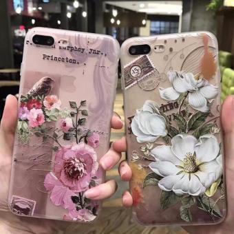 Ốp hoa văn cao cấp phong cách Châu ÂU iphone 7Plus - 2