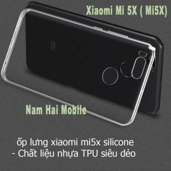 Ốp lưng cho Xiaomi Mi5X / Mi 5X dẻo trong