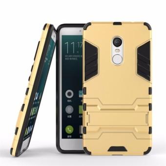 Ốp lưng chống sốc Iron Man cho Xiaomi Redmi Note 4 (Vàng đồng)