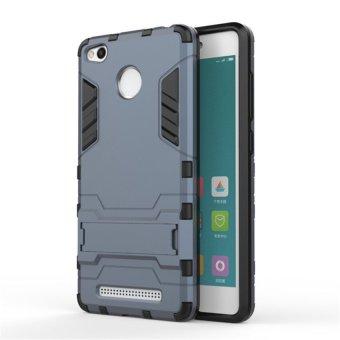 Ốp lưng chống sốc Iron Man dành cho Xiaomi Redmi 3S (Xám)