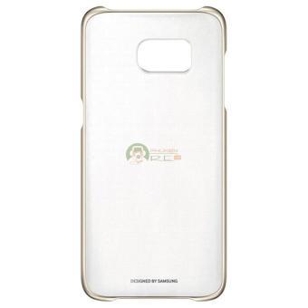 Ốp lưng Clear Cover Galaxy S8 Plus - Hàng nhập khẩu (Vàng Gold)