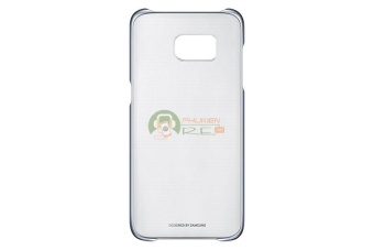 Ốp lưng Clear Cover Galaxy S8 Plus - Hàng nhập khẩu (Xanh đen)