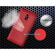 Ốp lưng dạng lưới tản nhiệt cho Nokia 2 tặng kính cường lực