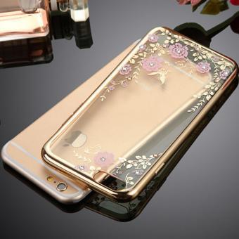 Ốp lưng điện thoại đính đá, kim cương Sang Trọng cho Iphone 6/6S