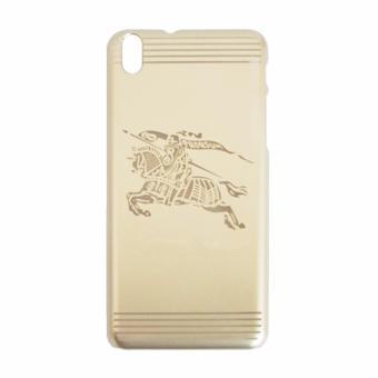 Ốp lưng đính đá HTC Desire 816 (Vàng gold)