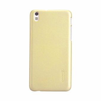 Ốp lưng màu HTC Desire 816 dạng sần (Vàng nhạt)