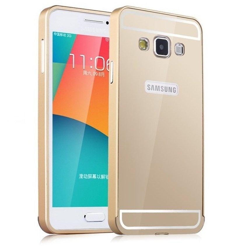 Hình ảnh Ốp lưng nguyên khối bóng cho Samsung Galaxy A5 (Vàng)