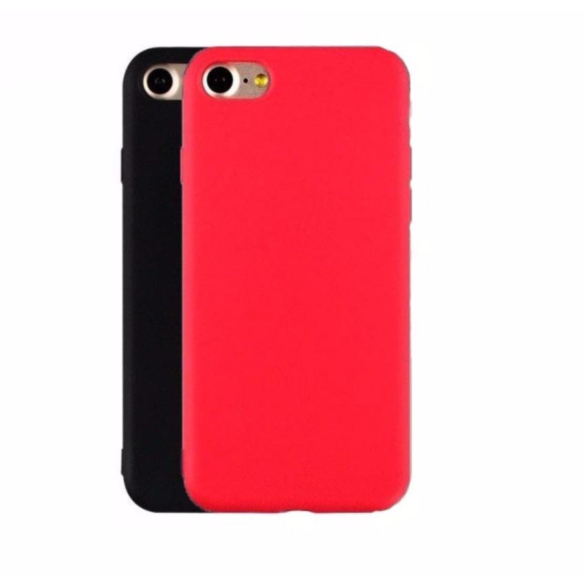 Hình ảnh Ốp lưng nhựa dẻo dành cho Iphone 7 Plus Đỏ