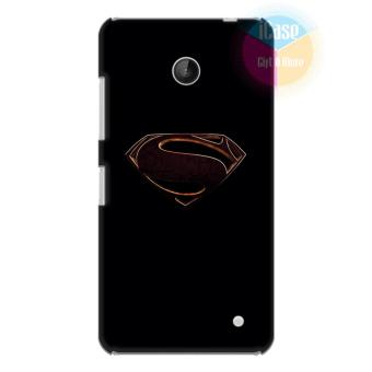 Ốp lưng Nokia Lumia 630 - Nhựa dẻo Silicone iCase Color in hìnhSuperman