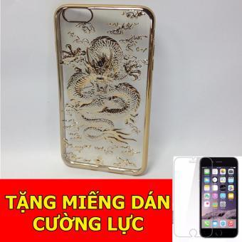 Ốp lưng rồng 4D dành cho iPhone7 Plus + Tặng 01 miếng dán cường lực
